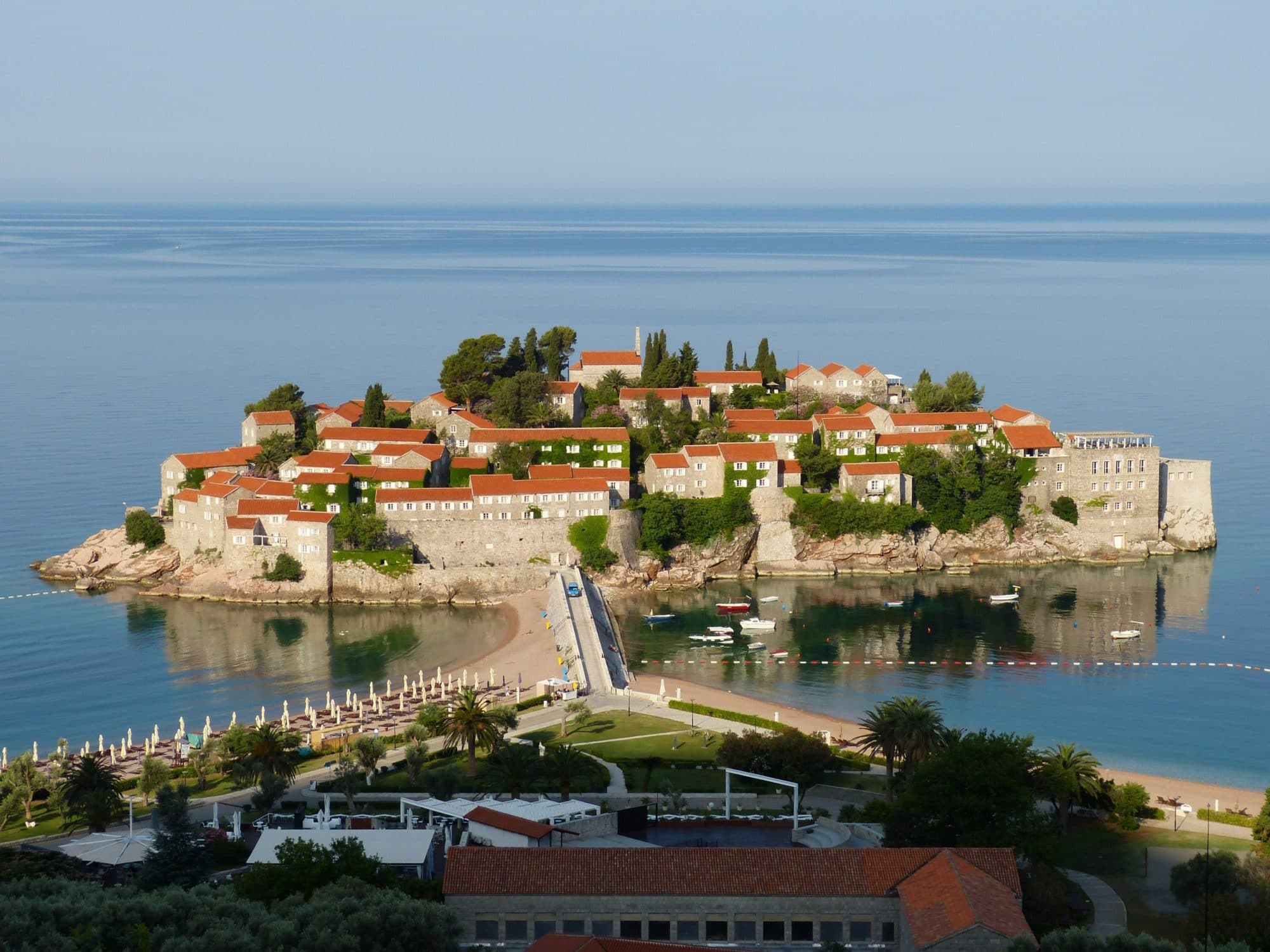 It's easy to see how living in Budva, Montenegro is a charming experience.