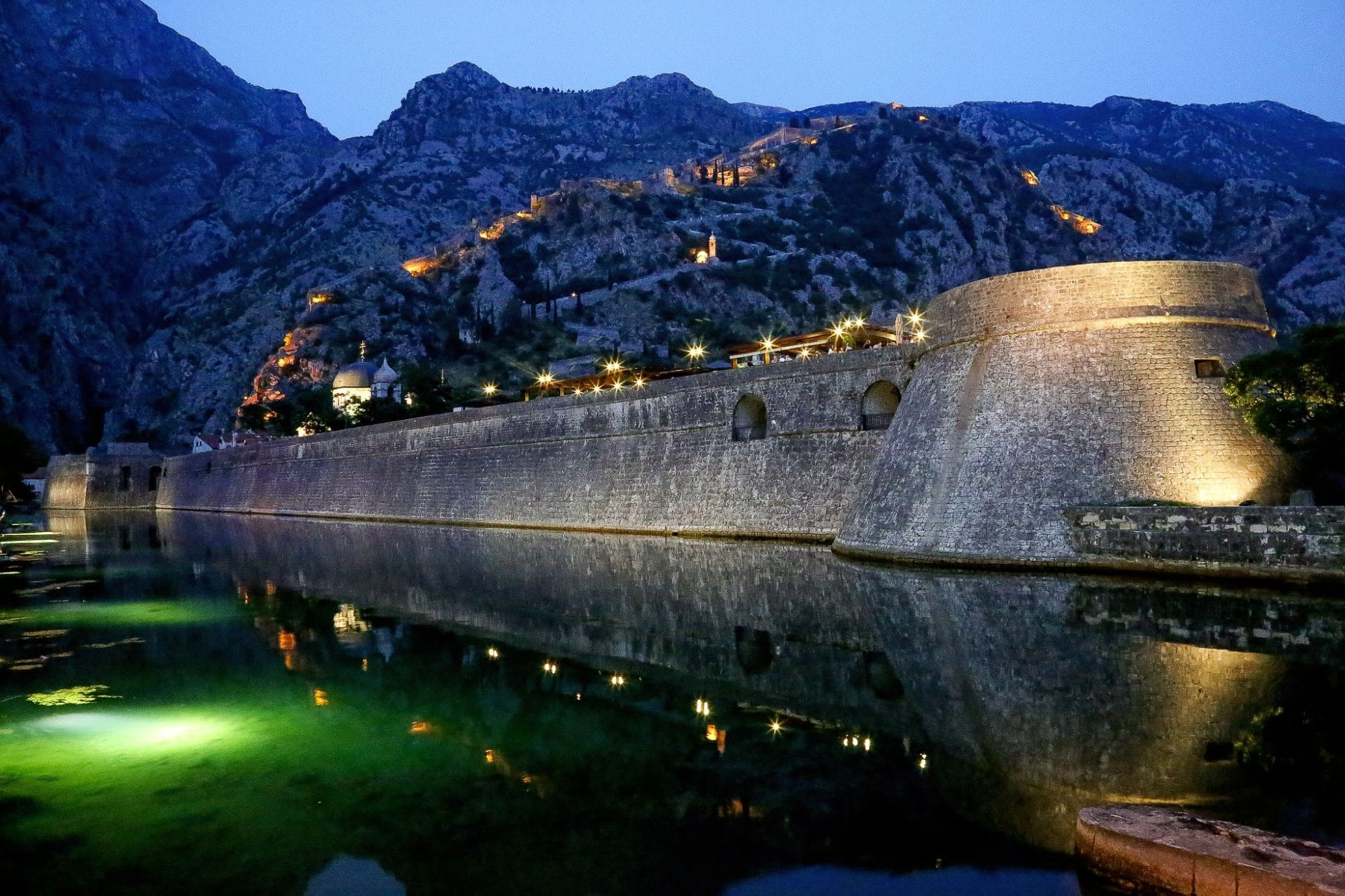 Living in Kotor, Montenegro means being surrounded by a UNESCO world heritage site.