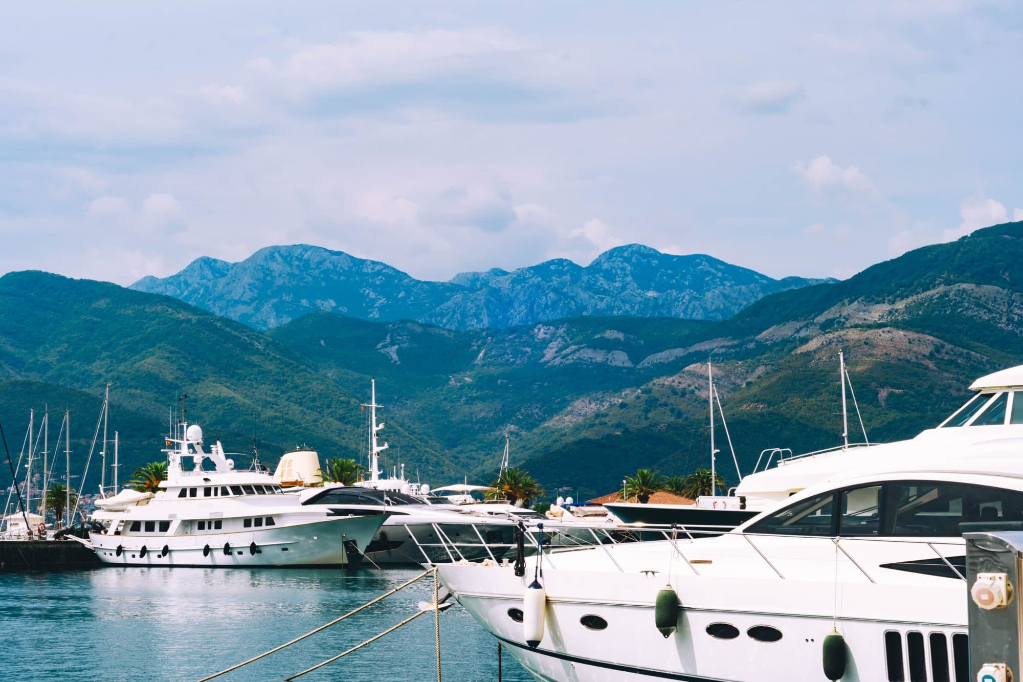 Luxury tourism development, especially for the yacht set, will surely lead to an increase in private banking options in Montenegro.